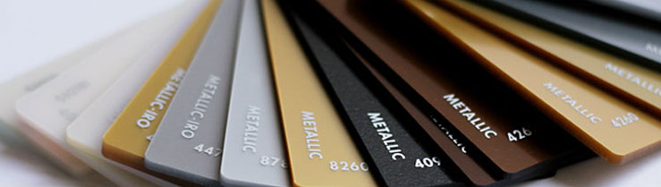 Metallic Acrylic Sheets