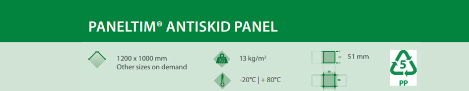 paneltim anti skid panels