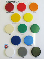Foamalux Colour Swatch