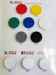Foamalux Ultra Colour Swatch